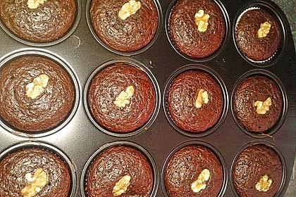Saftige Schoko - Bananen - Muffins 33