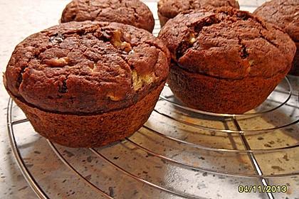Saftige Schoko - Bananen - Muffins 38