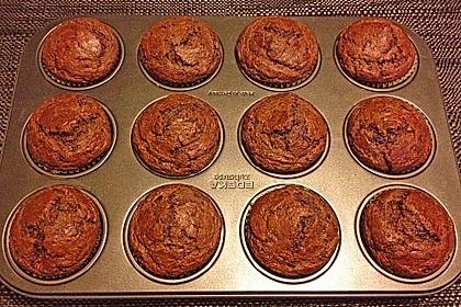 Saftige Schoko - Bananen - Muffins 13