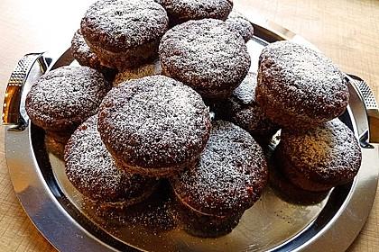 Saftige Schoko - Bananen - Muffins 45