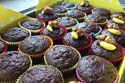 Saftige Schoko - Bananen - Muffins 16