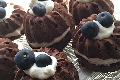 Saftige Schoko - Bananen - Muffins 1