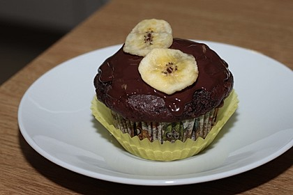 Saftige Schoko - Bananen - Muffins 20