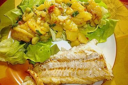Kartoffelsalat mit Bärlauch und getrockneten Tomaten 8