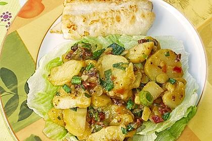 Kartoffelsalat mit Bärlauch und getrockneten Tomaten 6