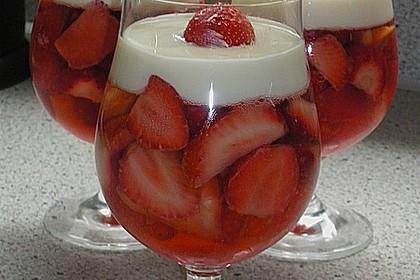 Erdbeeren in Sektgelee 5