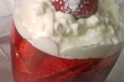 Erdbeeren in Sektgelee 7