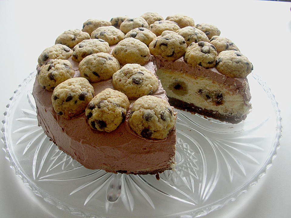chocolate chip cookie dough cheesecake von kaddistar. Black Bedroom Furniture Sets. Home Design Ideas