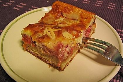 Rhabarber - Erdbeer - Blechkuchen