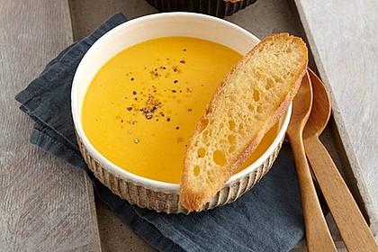 Möhren - Ingwer - Suppe 2