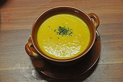 Möhren - Ingwer - Suppe 16
