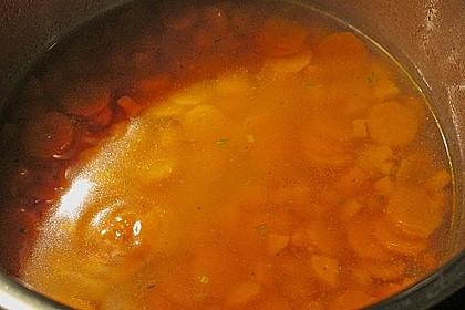 Möhren - Ingwer - Suppe 23