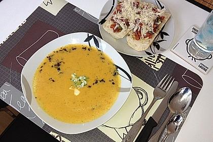 Möhren - Ingwer - Suppe 21