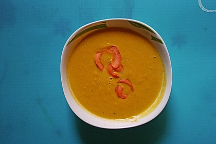 Möhren - Ingwer - Suppe 24