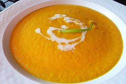 Möhren - Ingwer - Suppe 13