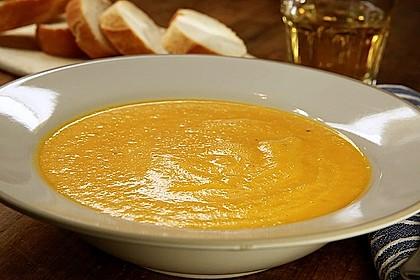 Möhren - Ingwer - Suppe 15