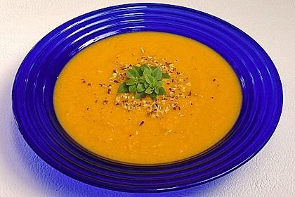 Möhren - Ingwer - Suppe 1