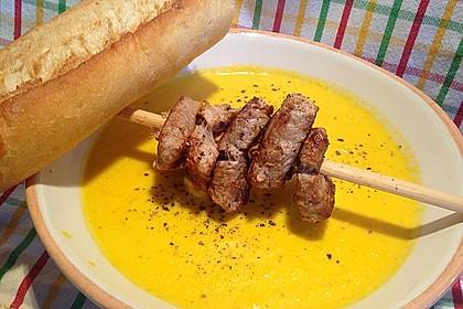 Möhren - Ingwer - Suppe 11