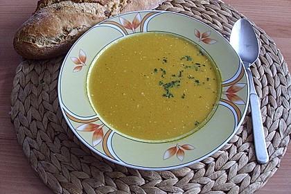 Möhren - Ingwer - Suppe 9