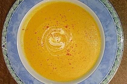 Möhren - Ingwer - Suppe 10