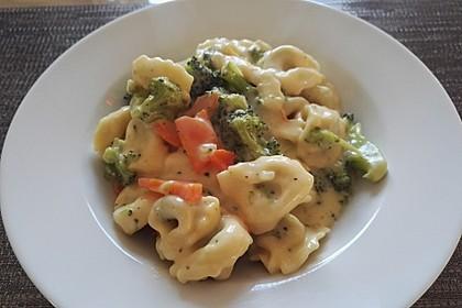 Tortelloni in Käse - Sahne - Sauce 32