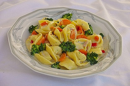 Tortelloni in Käse - Sahne - Sauce 3