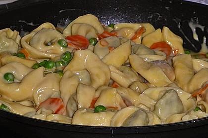 Tortelloni in Käse - Sahne - Sauce 20