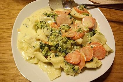 Tortelloni in Käse - Sahne - Sauce 28