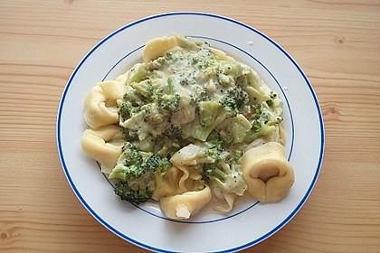 Tortelloni in Käse - Sahne - Sauce 41
