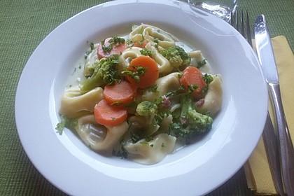 Tortelloni in Käse - Sahne - Sauce 36