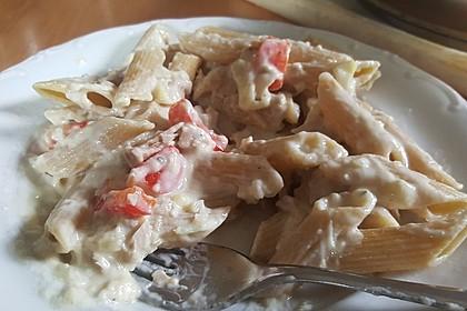 Tortelloni in Käse - Sahne - Sauce 49