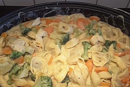 Tortelloni in Käse - Sahne - Sauce 19
