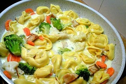 Tortelloni in Käse - Sahne - Sauce 35