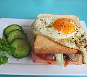 California Mountain Snake Sandwich