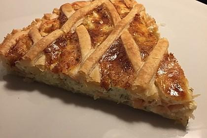 Schwedischer Lachskuchen  'Schwedenpizza' 25