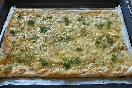 Schwedischer Lachskuchen  'Schwedenpizza' 5