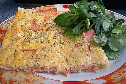 Schwedischer Lachskuchen  'Schwedenpizza' 14