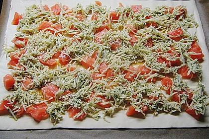 Schwedischer Lachskuchen  'Schwedenpizza' 78