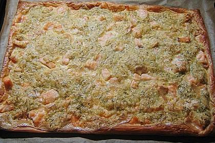 Schwedischer Lachskuchen  'Schwedenpizza' 43