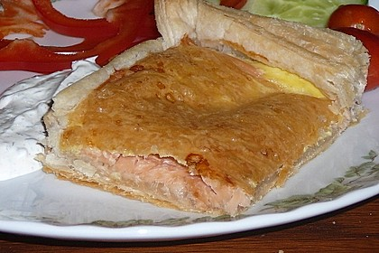 Schwedischer Lachskuchen  'Schwedenpizza' 64