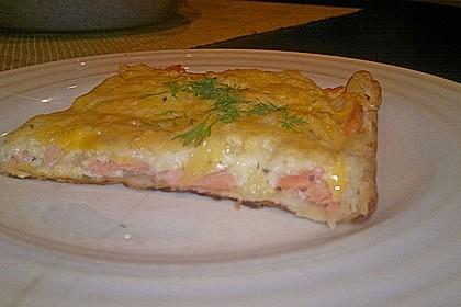 Schwedischer Lachskuchen  'Schwedenpizza' 70