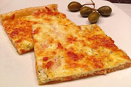 Schwedischer Lachskuchen  'Schwedenpizza' 13
