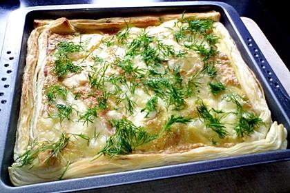 Schwedischer Lachskuchen  'Schwedenpizza' 18
