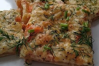 Schwedischer Lachskuchen  'Schwedenpizza' 12