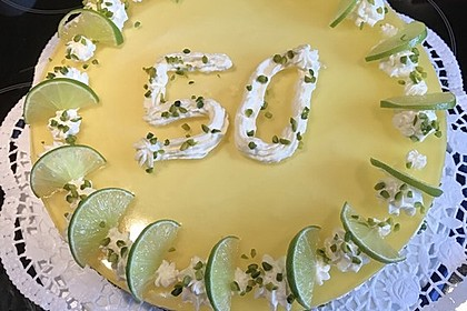Einfache Zitronen - Joghurt - Torte 81
