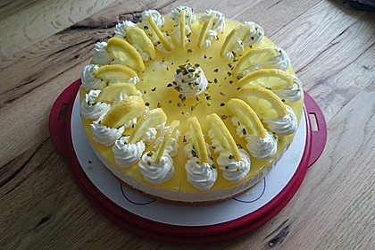 Einfache Zitronen - Joghurt - Torte 74