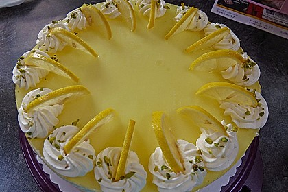 Einfache Zitronen - Joghurt - Torte 7