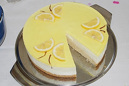 Einfache Zitronen - Joghurt - Torte 19