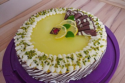 Einfache Zitronen - Joghurt - Torte 11