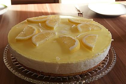 Einfache Zitronen - Joghurt - Torte 48